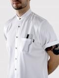 Camisa de chef blanca