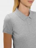 Women's Light Grey Polo