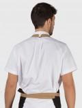 White workshirt back