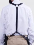 espalda arnés negro