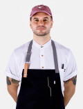 White chef's shirt