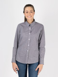 Women's Black Check Shirt for waitress