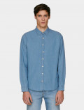 Men's light denim shirt