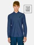 Men's Light Denim Shirt with logo company