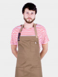 Red striped t-shirt with apron