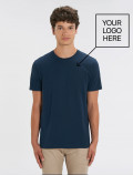 Men's blue navy t-shirt with logo