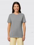 Camiseta gris de mujer para uniforme