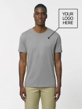 Men´s grey t-shirt with logo