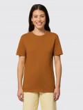Camiseta naranja de mujer para uniforme