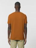 Men's orange t-shirt back