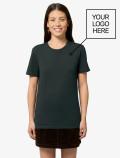 Camiseta Negra Mujer con logo