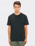 Men's black t-shirt for modern uniforms