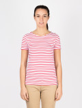 Women´s red striped t-shirt