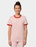 Camiseta roja de mujer