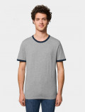 Uniform blue t-shirt