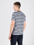 Camiseta Stripe Azul Hombre