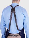 Barista blue apron harness