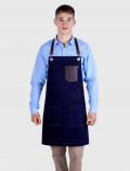 Barista Indigo apron