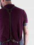 Leather Harness barman apron