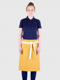 Yellow French apron