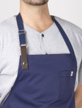 chef's aprons leather detail