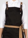 Hospitality black apron detail