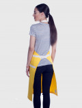 Yellow modern apron back for professionals