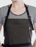 Waiter's uniform apron detail