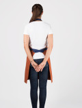 Terracotta waitres´s apron back