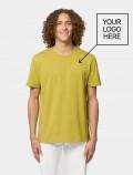 Men's lemon t-shirt with logo