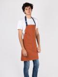 Orange waiter´s apron