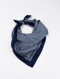 Blue French Handkerchief