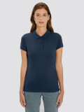 Women's Blue Polo for uniform