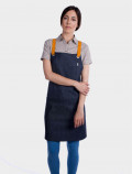 Stylish apron in denim