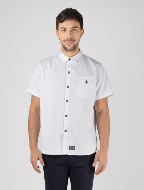 Bravo White Workshirt
