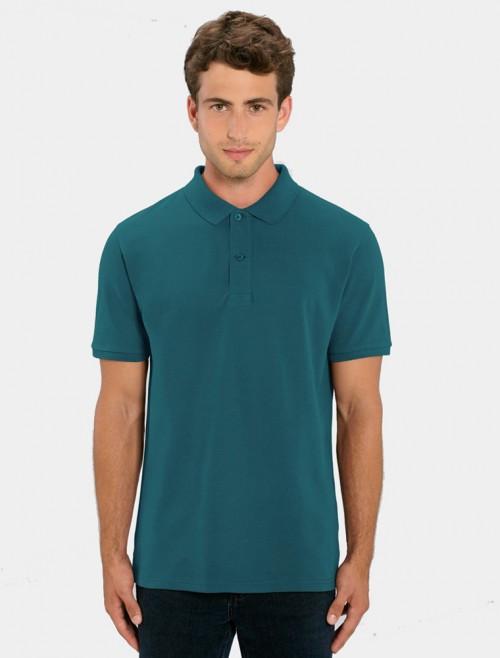 Men's Turquoise Polo