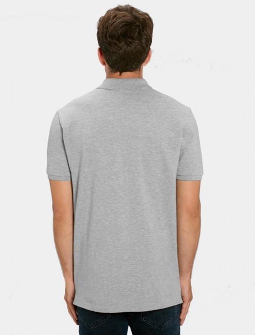 Men's Light Grey Polo Shirt