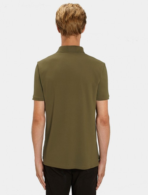 Men's Army Polo