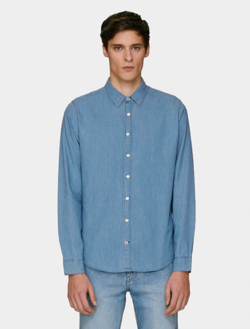 Camisa Denim Light Hombre
