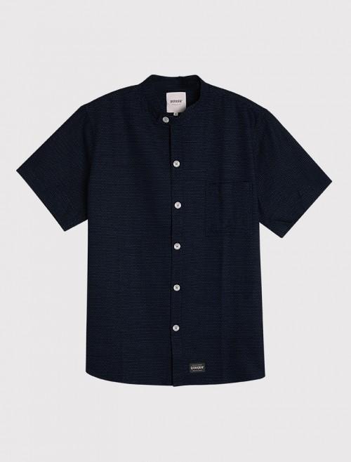 Camisa Zan Denim Jacquard