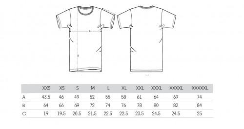 Sizing Men's Black T-Shirt