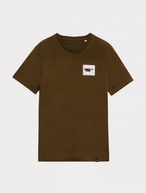 Camiseta Logo Kaki
