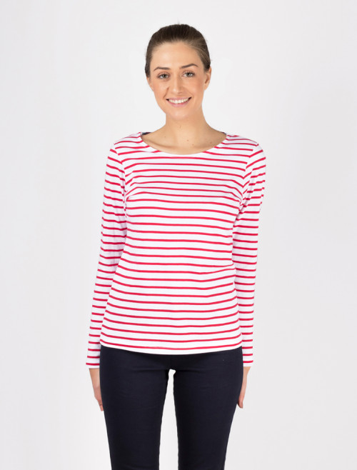 Women's Red Marine T-Shirt
