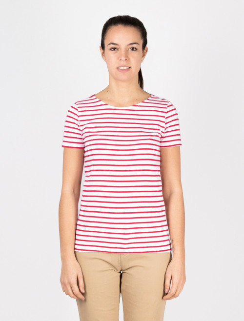 Women's Red Nautical T-Shirt