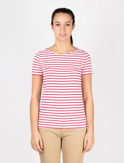 Camiseta Náutica Roja Mujer