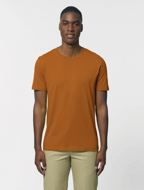 Camiseta Naranja Hombre