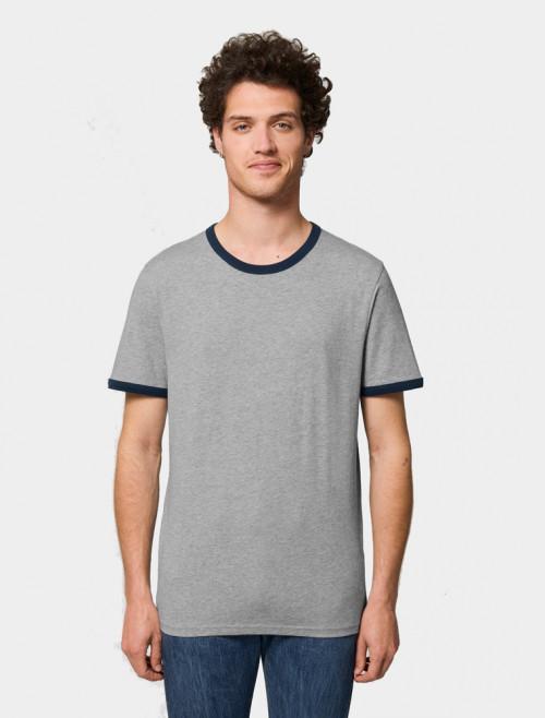 Camiseta Star Azul Hombre