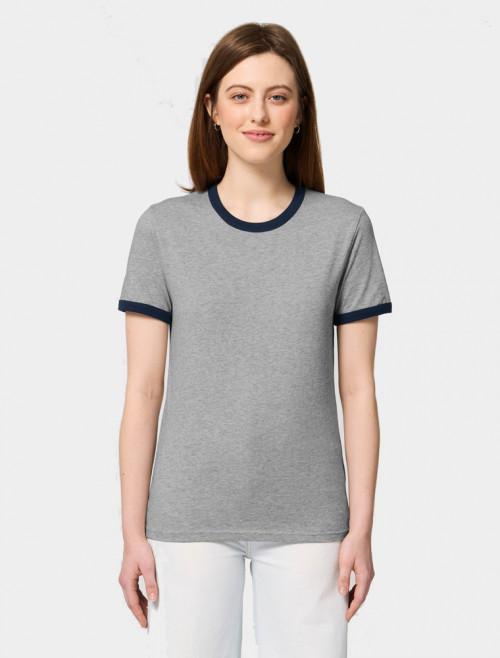 Camiseta Star Azul Mujer