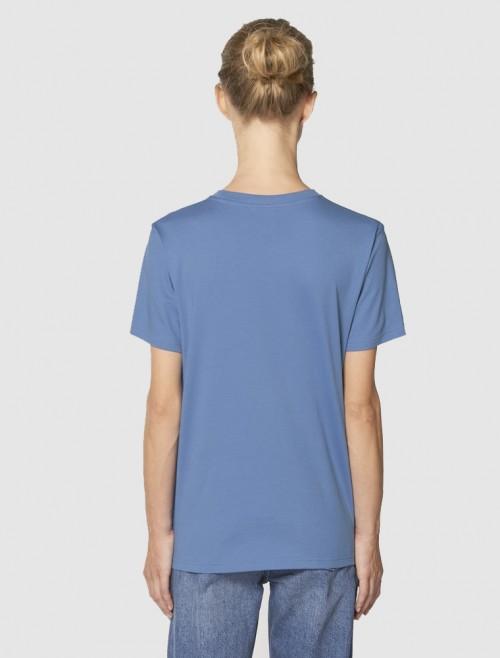 Women's Bright Blue T-Shirt