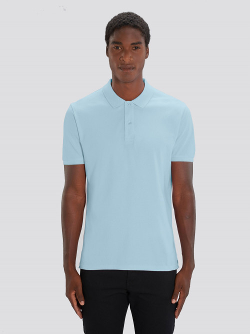 Men's Sky Blue Polo